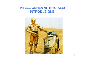 02. Introduzione all`Intelligenza Artificiale