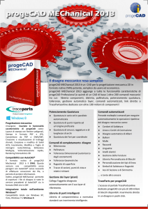 Brochure progeCAD 2013 MEChanical