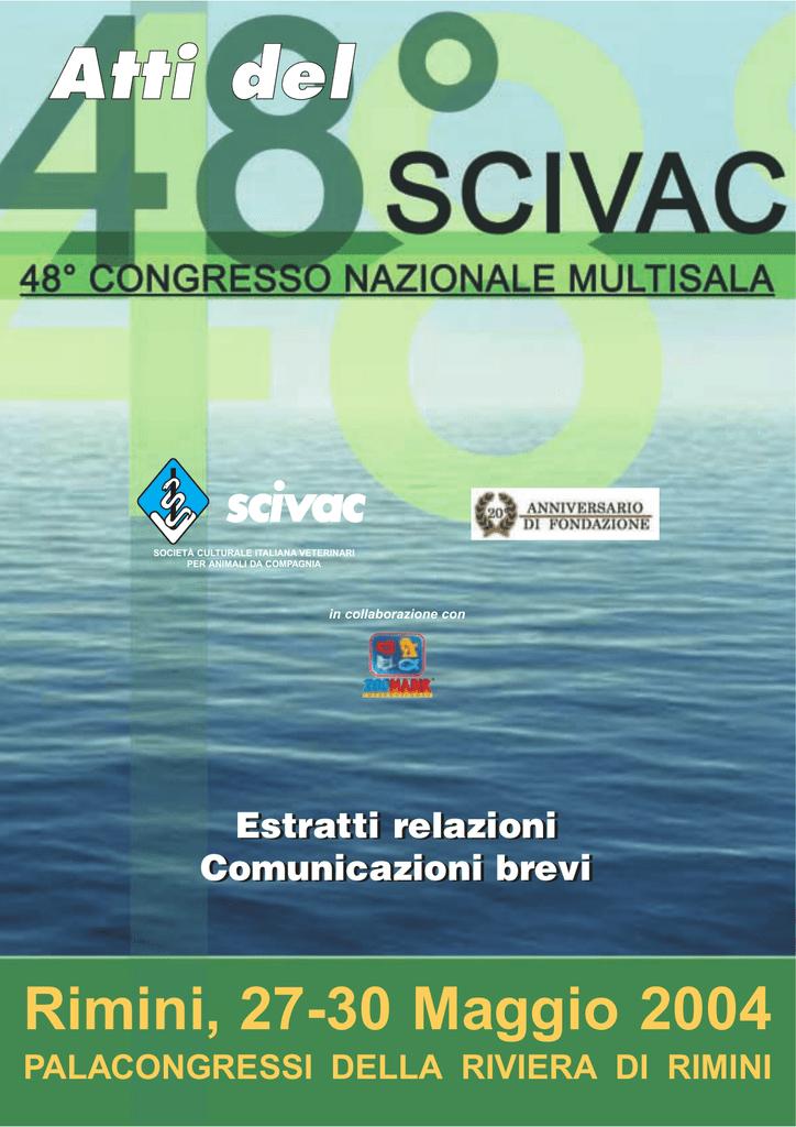 48 Congresso Nazionale Multisala Scivac Rimini 27
