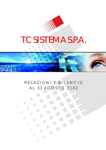 tc sistema spa - Borsa Italiana
