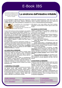 sindrome dell`intestino irritabile
