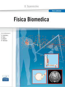 FISICA BIOMEDICA Domenico Scannicchio