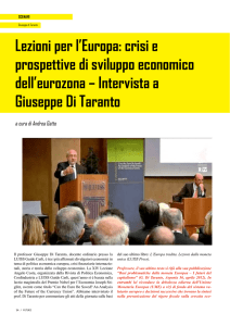Intervista a Giuseppe Di Taranto - Italian Institute for the Future