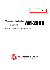 AM2000 old - installazione