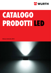 Catalogo prodotti LED - Wuerth