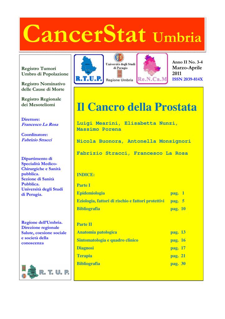 carcinoma della prostata in soggetto anziano