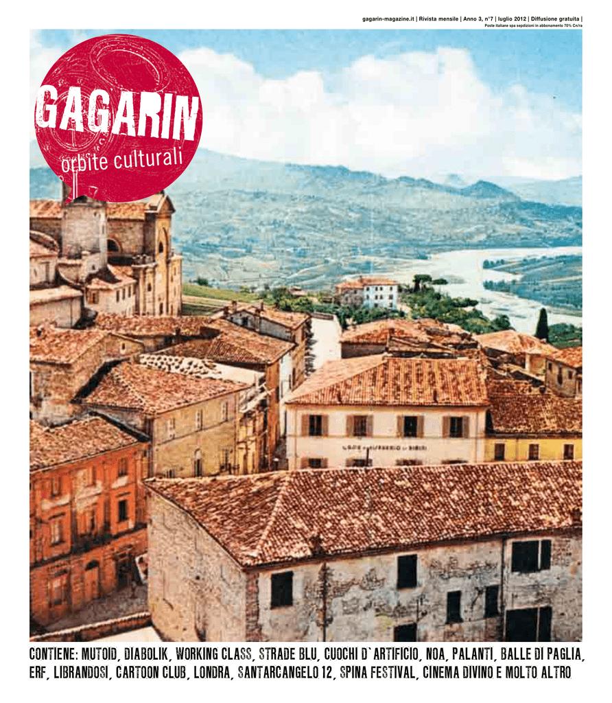 b8c8246a5f gagarin-magazine.it | Rivista mensile | Anno 3, n°7 | luglio 2012 |  Diffusione gratuita | Poste italiane spa sepdizioni in abbonamento 70%  Cn/ra orbite ...
