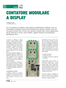 contatore modulare a display contatore modulare a display