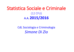DISPENSA DI STATISTICA