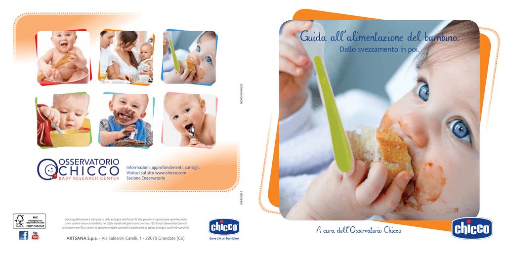 fd9c565234 Guida all`alimentazione del bambino.