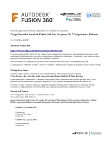 DesignNow with Autodesk Fusion 360 Pan European 2017