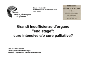 Insufficienza renale end stage-Storari