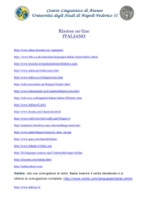 elenco risorse on-line di Italiano L2
