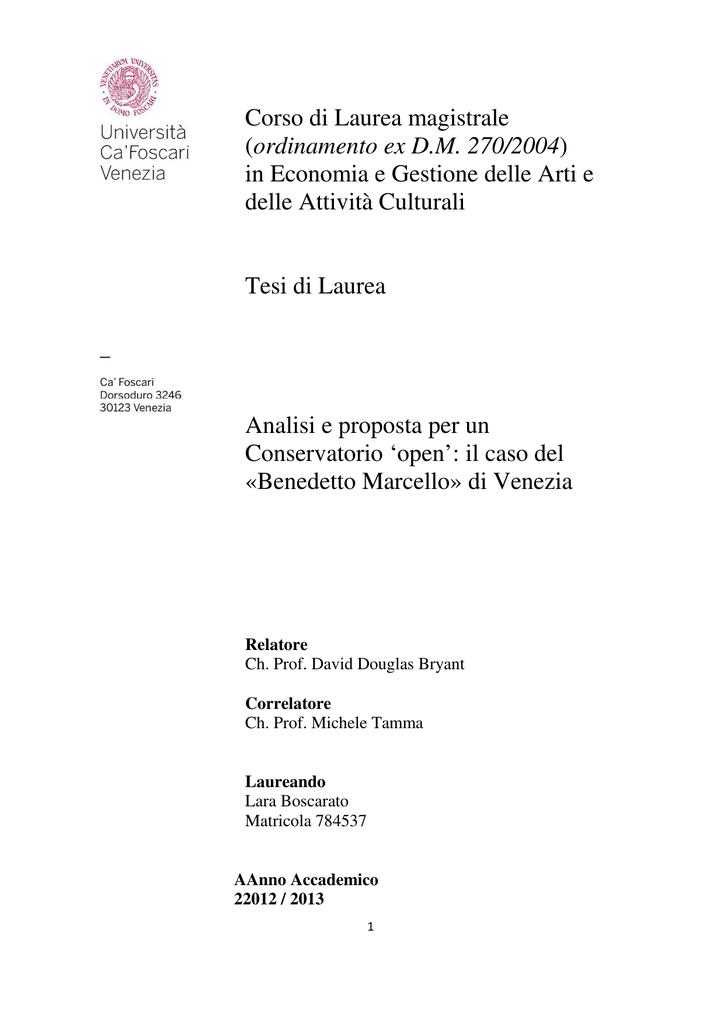 Corso di Laurea magistrale (ordinamento ex D.M. 270 2004) in 3ce98c08e33