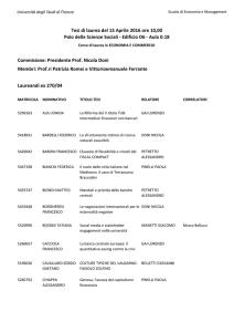 Calendario Unifi Economia.Calendario 1 Livello Ec 28 Aprile 2017 Economia Unifi