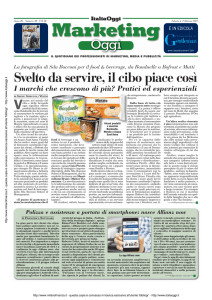 Marketing Oggi - Regione Abruzzo