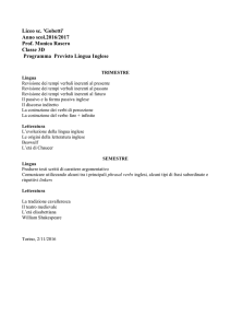 Inglese - Liceo scientifico Gobetti