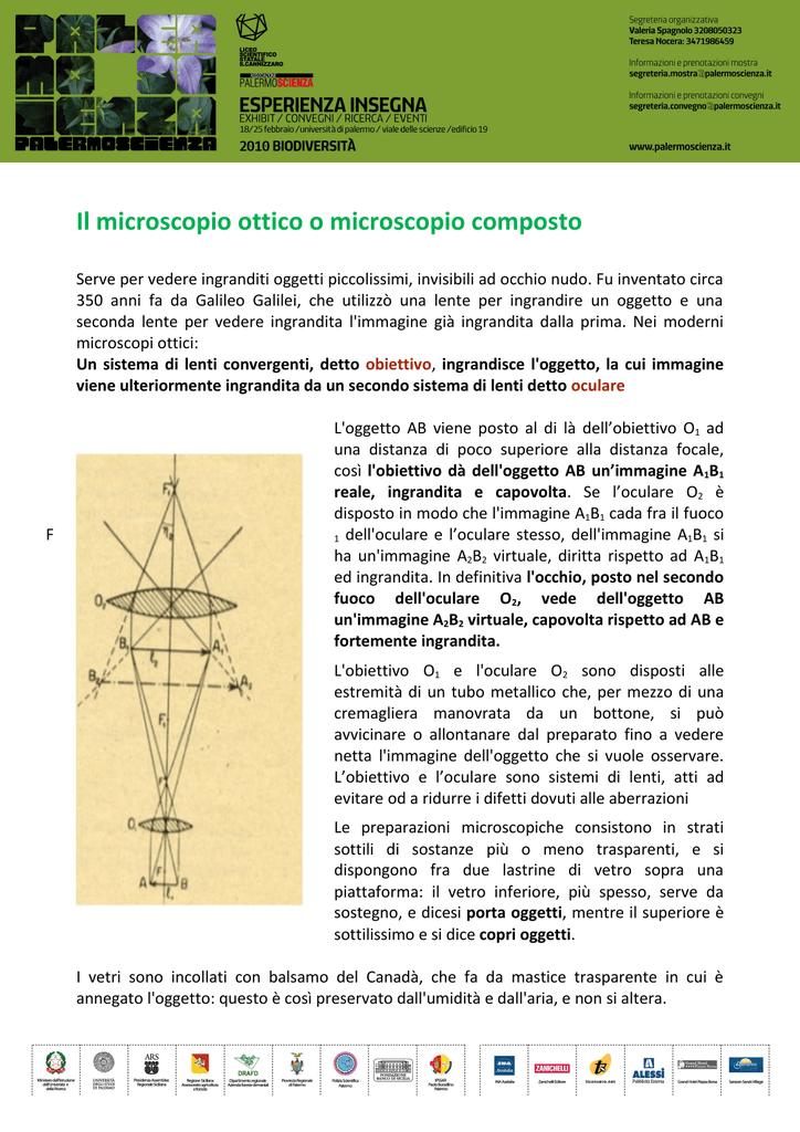 a6a56ba3b2 Fu inventato circa 350 anni fa da Galileo Galilei, che utilizzò una lente  per ingrandire un ...