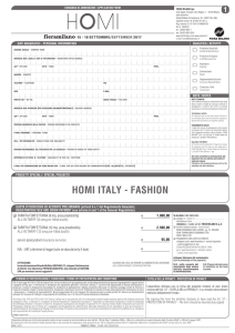 homi italy - fashion