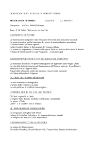 Storia - Liceo scientifico Gobetti