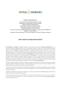 documento di registrazione