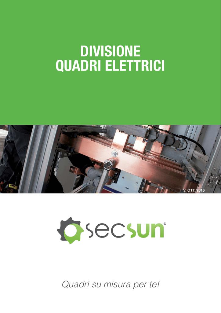 Schema Elettrico Quadro Di Campo Stringhe : Quadri elettrici divisione