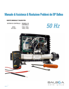 42217 C_BWG 50Hz Troubleshooting_Service Manual_2013-07-29