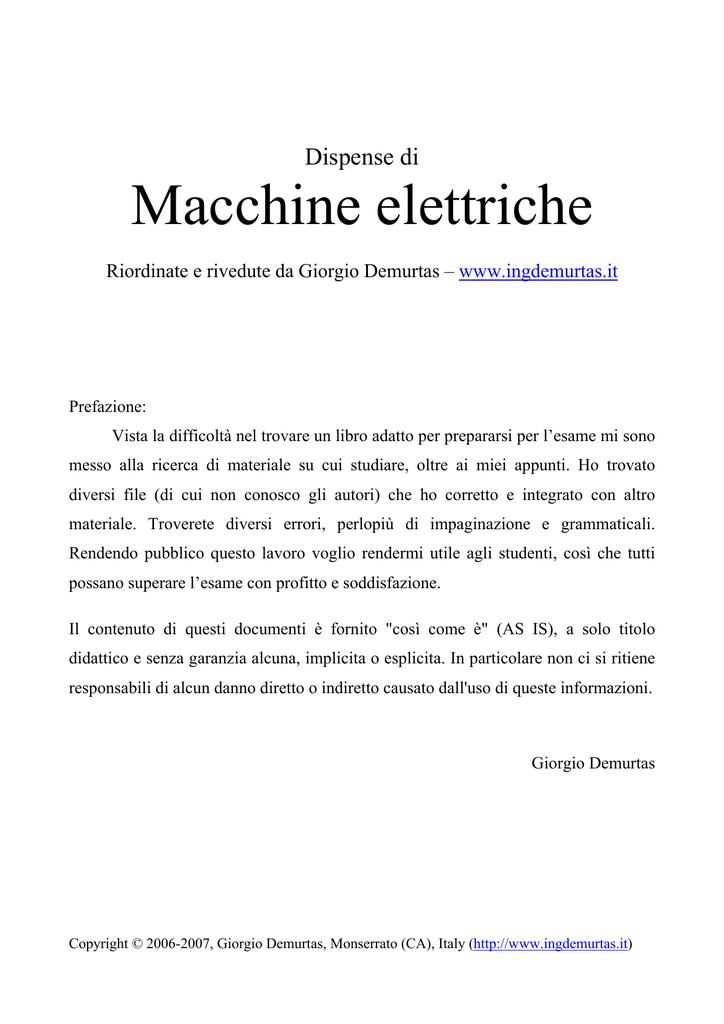 875131dc609 Dispense di macchine elettriche 1