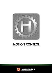 motion control - Homberger SpA