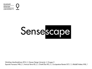 sensescape - Quasar Design University