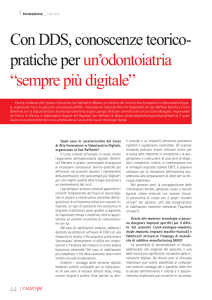 sempre più digitale - Dental Tribune International