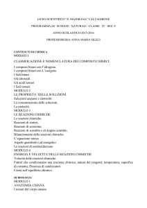 4F Scienze naturali