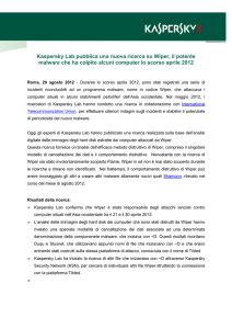Wiper Press Release Finalx - Kaspersky Lab – Newsroom Europe.
