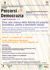 locandina dell`evento - Movimento Punto Europa