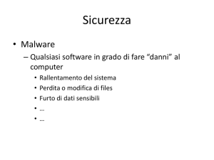 Sicurezza - Davide Quirillo