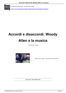 Accordi e disaccordi: Woody Allen e la musica - Close