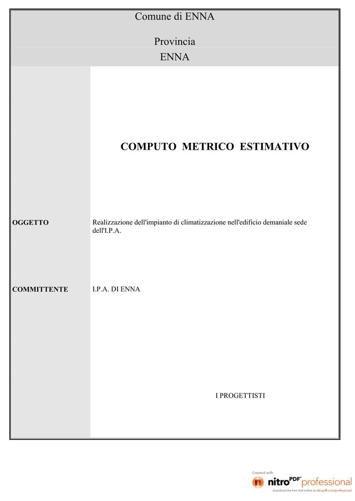 Computo Metrico Ipa