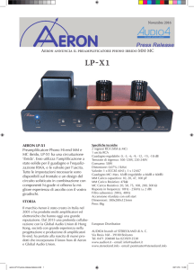 Aeron annuncia il preamplificatore phono ibrido MM-MC
