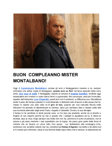 buon compleanno mister montalbano!
