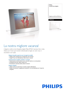 SPF4612/12 Philips PhotoFrame digitale