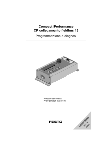 Compact Performance CP collegamento fieldbus 13