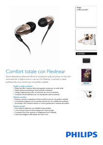 SHE9900/10 Philips Cuffie auricolari