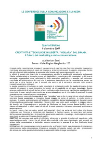 Abstract della Conferenza in pdf