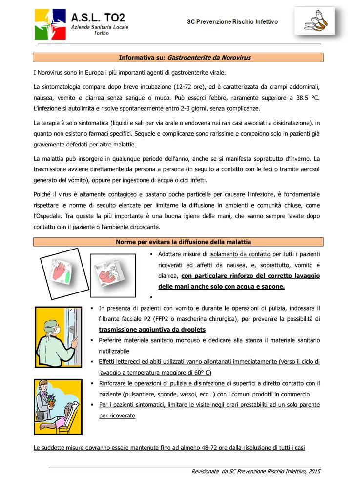complicanze del norovirus