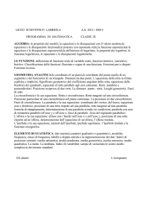 LICEO SCIENTIFICO LABRIOLA A