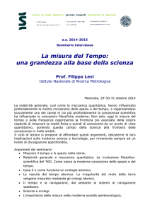 Abstract seminario - Scuola di Studi Superiori