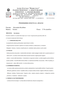 programma svolto as 2013/14