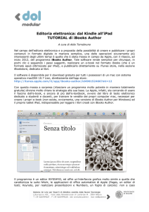 tutorial ibooks author