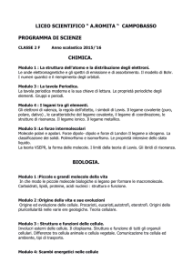 scienze 2 f - Liceo Scientifico