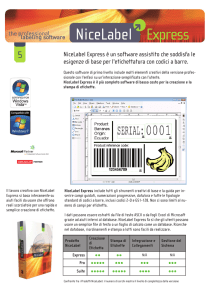 NiceLabel Express è un software assistito che soddisfa le